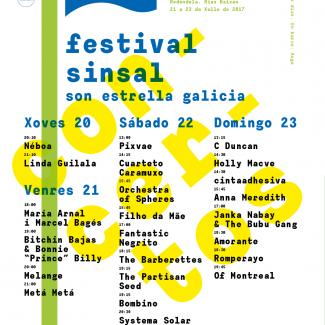 Cartel concertos Sinsal 15