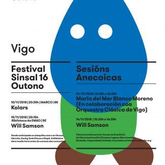 Cartel Festival Sinsal 16 outono